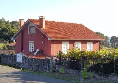 Cubierta en Arnois - A Estrada