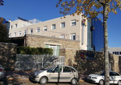 Fachada Residencia San Lázaro - Santiago